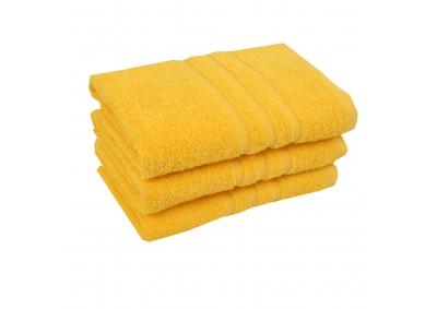 Froté ručník - CLASSIC 50x100cm žlutý