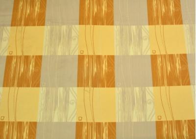 8-dílné povlečení s polštářky Hnědá s kostkou (bavlna LUX)