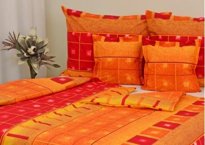 Bavlněné povlečení LUX Oranžový quartex