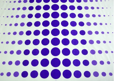 Bavlněné povlečení LUX Planety  fialové na šedivém podkladu