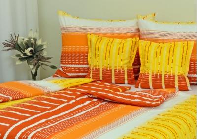Bavlněné povlečení LUX Oranžovožluté snění