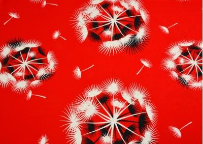 Bavlněné povlečení LUX Červené chmýří