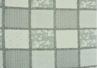 Krepové povlečení LUX Šedivý patchwork