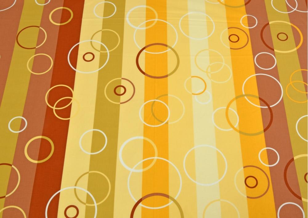 Barevné bubliny bavlna lux metráž