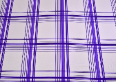 Fialový pružek bavlna lux metráž