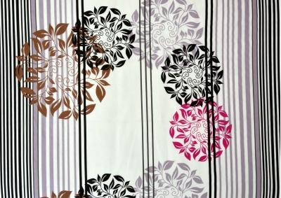 Bavlněné povlečení  Ornamenty s proužky