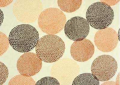 8-dílné povlečení s polštářky Barevná kolečka (bavlna LUX)