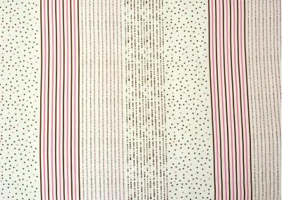 Ložní povlečení bavlna Bílá s barevnými puntíky, 135g