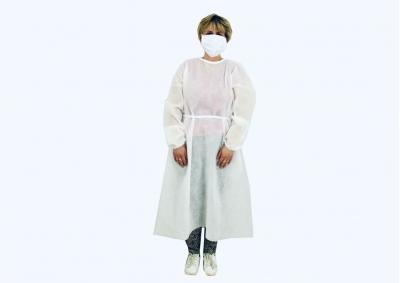 Jednorázový plášť vyrobený z netkaného Polypropylenu 50g/m2
