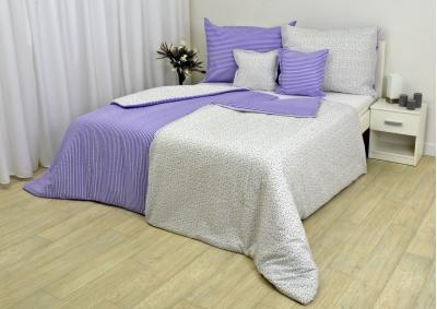 Romantika fialová KREP LUX 140x200