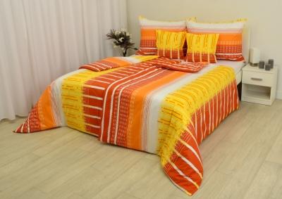 Ložní souprava bavlna Oranžovo žluté snění, 130g
