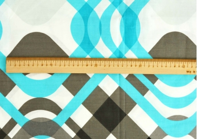Barevné čtverce bavlna  metráž