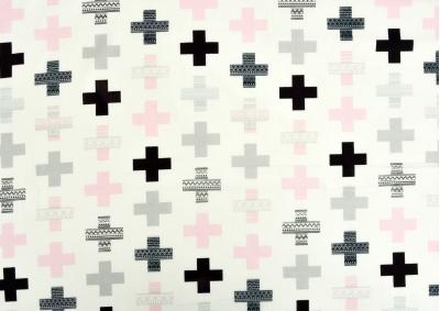 8-dílné povlečení s polštářky Růžové plus (bavlna medium)