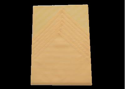 Ubrus 125x135 cm + 6ks prostírání (žlutooranžový pruh)