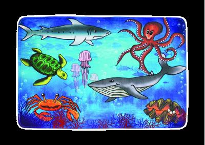 Dětské - podmořský svět (sea world)