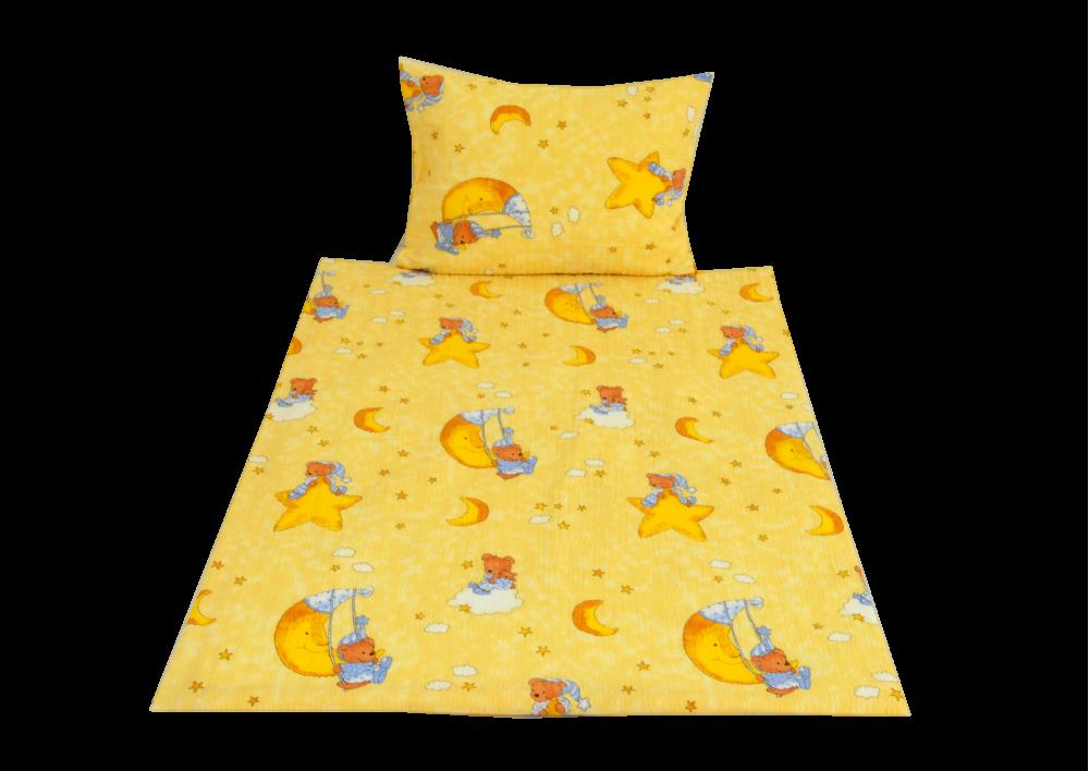 Měsíček žlutý (dětský krep)
