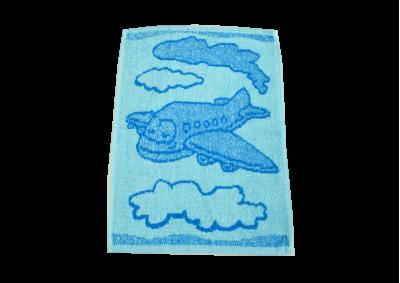 Dětské ručníky Letadlo modré