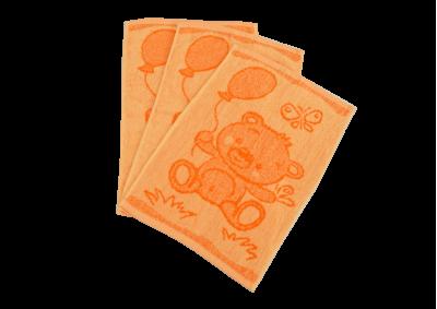 Dětské ručníky Medvídek oranžový