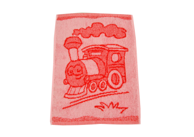 Dětské ručníky Mašinka červená