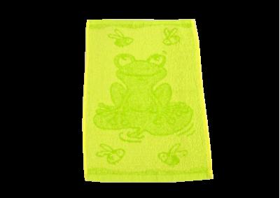 Dětské ručníky Žábka zelená