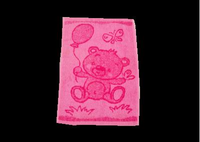 Dětské ručníky Medvídek růžový