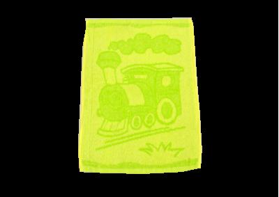 Dětské ručníky Mašinka zelená