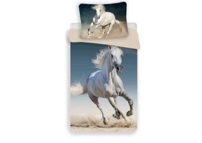 Bavlněné povlečení Kůň 140x200