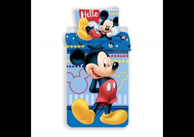 Bavlněné povlečení Mickey Hello 140x200