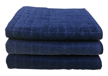 Pracovní froté ručník JERRY modrý