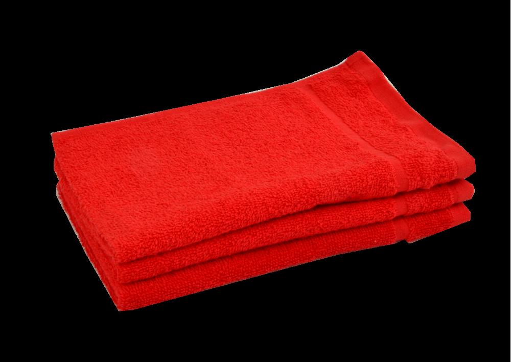 Froté ručník - CLASSIC 30x50cm červený