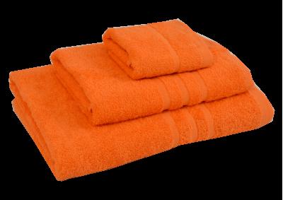 Froté ručník - CLASSIC 30x50cm oranžový