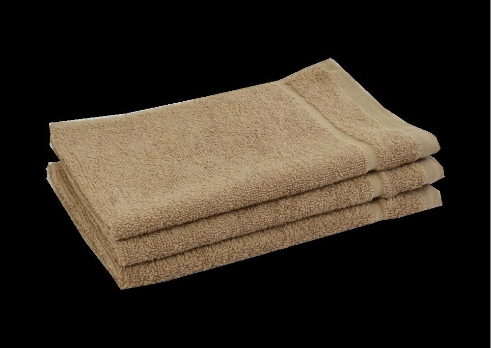 Froté ručník - CLASSIC 30x50cm světle hnědý