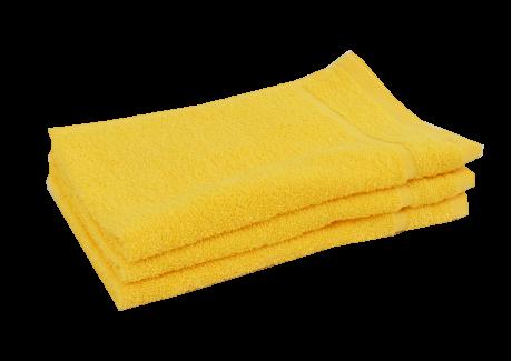 Froté ručník - CLASSIC 30x50cm žlutý