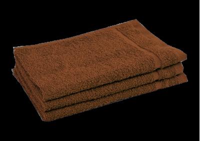 Froté ručník - CLASSIC 30x50cm hnědý