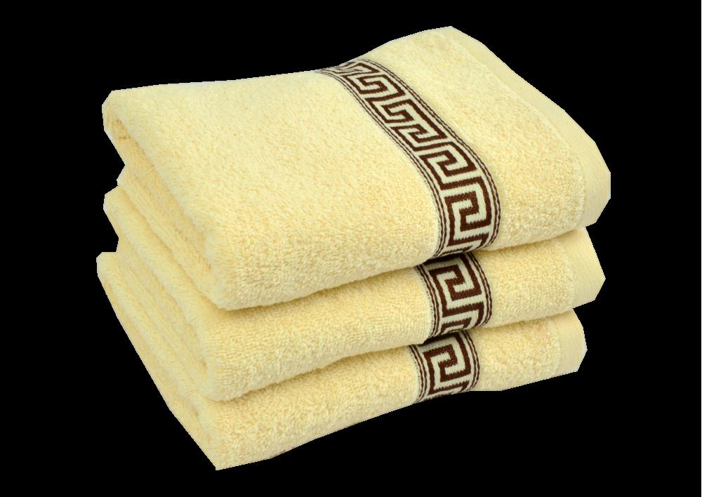 Froté ručník -  GREEK 2018 Béžový