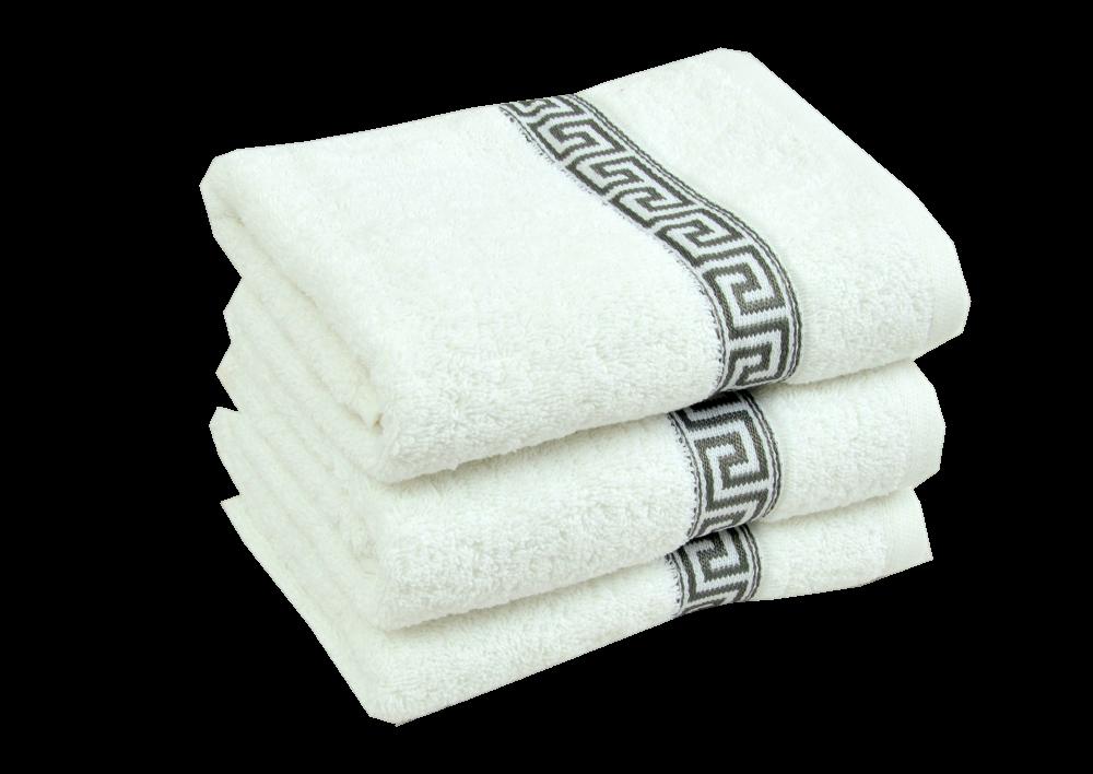 Froté ručník -  GREEK 2018 Bílý