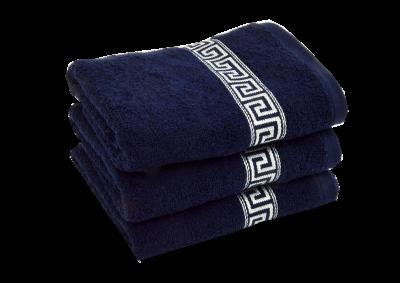 Froté ručník -  GREEK 2018 Tmavě modrý