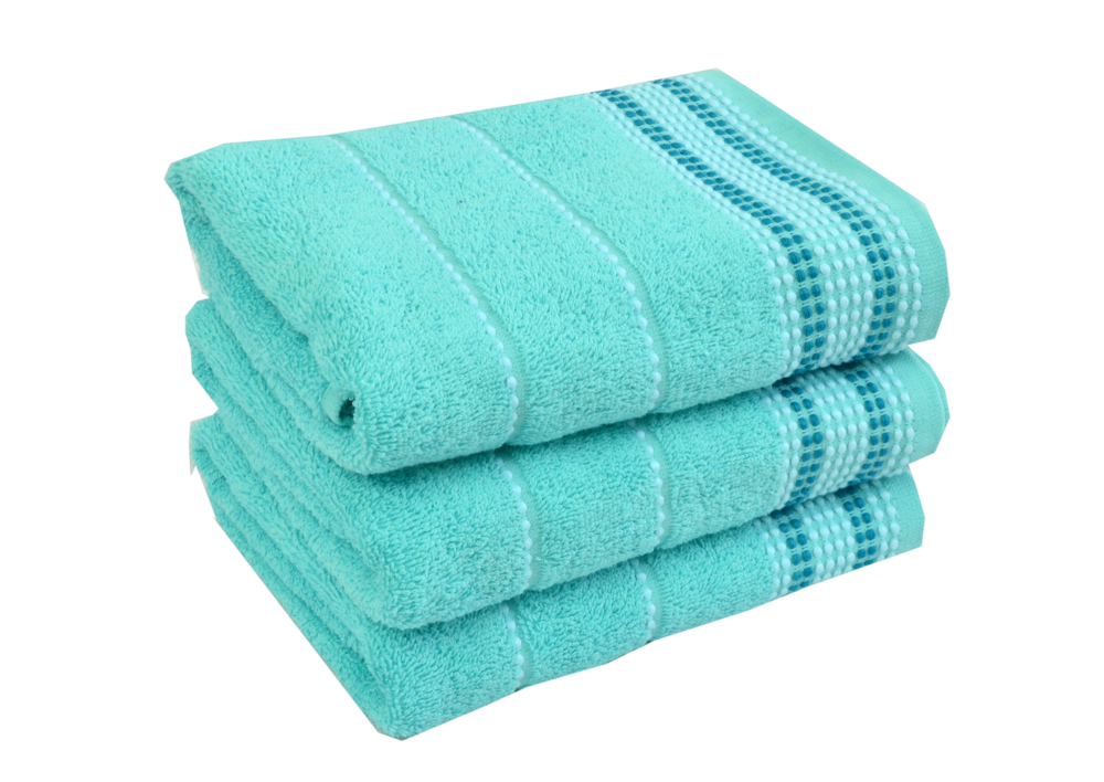 Froté ručník - BARBARA  Tyrkysový