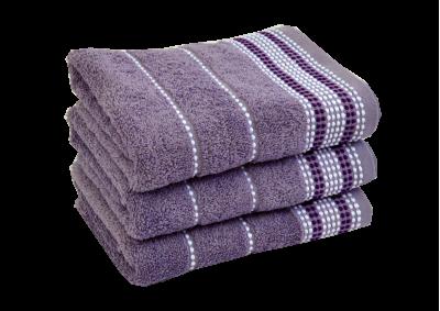 Froté ručník - BARBARA Fialový