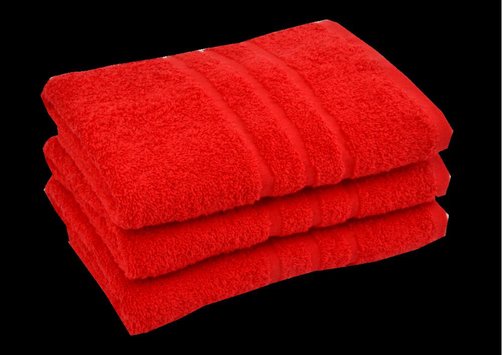 Froté ručník - CLASSIC 50x100cm červený