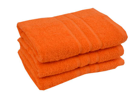 Froté ručník - CLASSIC 50x100cm oranžový