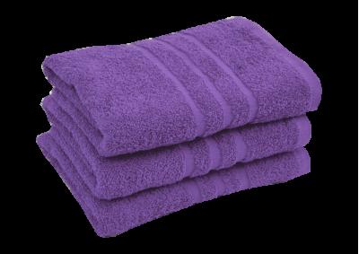 Froté ručník - CLASSIC 50x100cm fialový