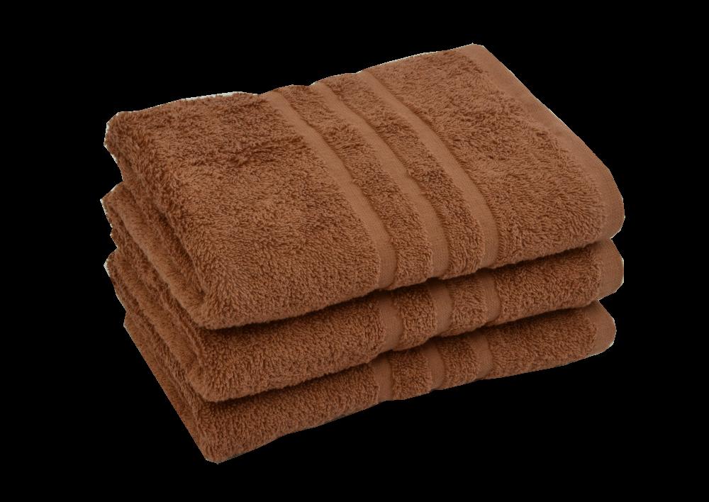 Froté ručník - CLASSIC 50x100cm Hnědý