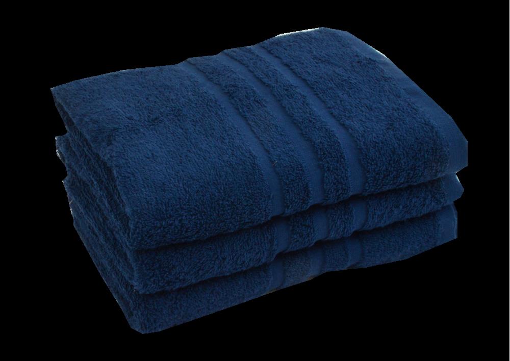 Froté ručník - CLASSIC 50x100cm tmavě modrý