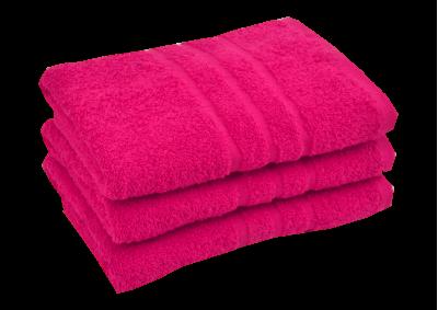 Froté ručník - CLASSIC 50x100cm růžový