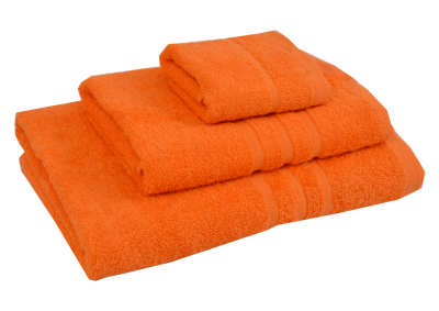 Froté osuška - CLASSIC 70x140cm oranžová