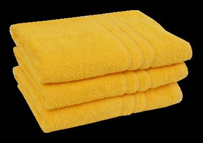 Froté osuška - CLASSIC 70x140cm žlutá