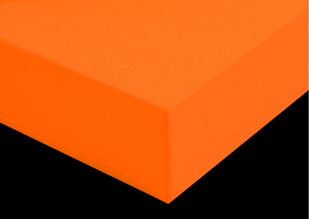 Prostěradlo plátno Oranžové do gumy