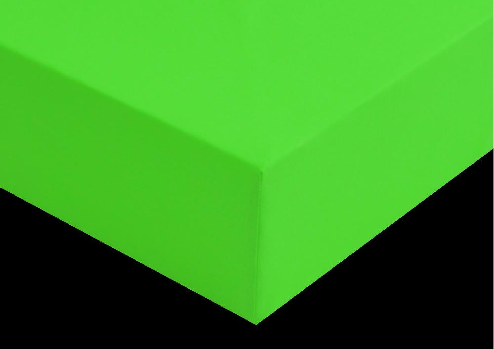 Prostěradlo plátno Sytě zelené do gumy