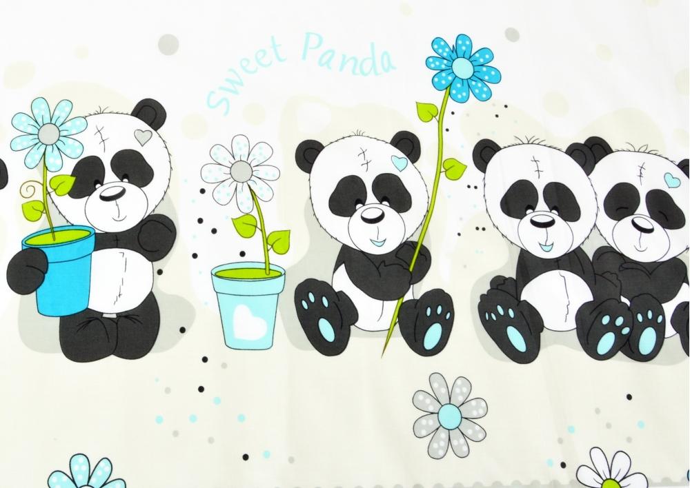 Panda (dětská bavlna) metráž